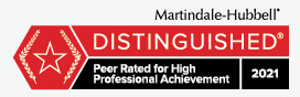 Martindale-Hubbell Distinguished Badge_Dewey Scandurro