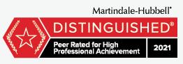Martindale-Hubbell Distinguished Badge_Dominick Scandurro